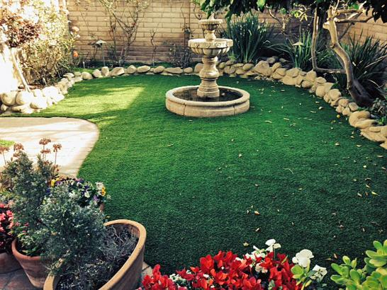 Artificial Grass Photos: Fake Grass Carpet Dry Creek, Oklahoma Landscape Ideas