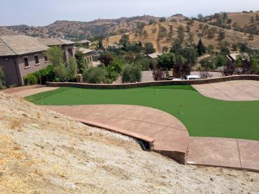 Faux Grass Langston, Oklahoma Putting Green Carpet, Backyard Designs artificial grass
