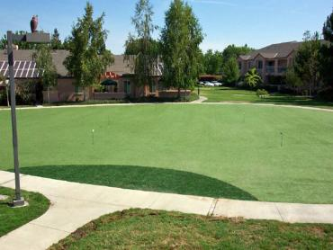 Artificial Grass Photos: Grass Carpet Akins, Oklahoma Outdoor Putting Green, Commercial Landscape
