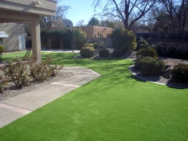 Installing Artificial Grass Catoosa, Oklahoma City Landscape, Front Yard artificial grass