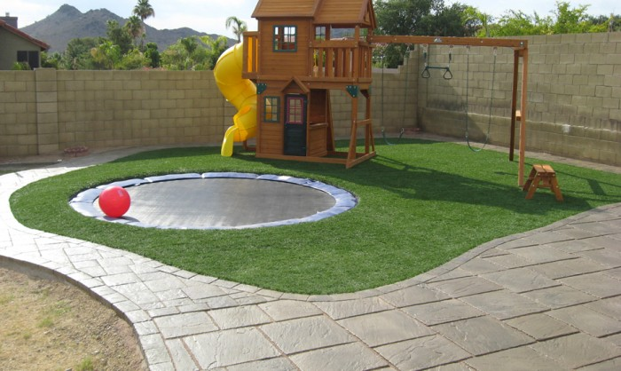 Synthetic Grass for Landscape Lawns Oklahoma